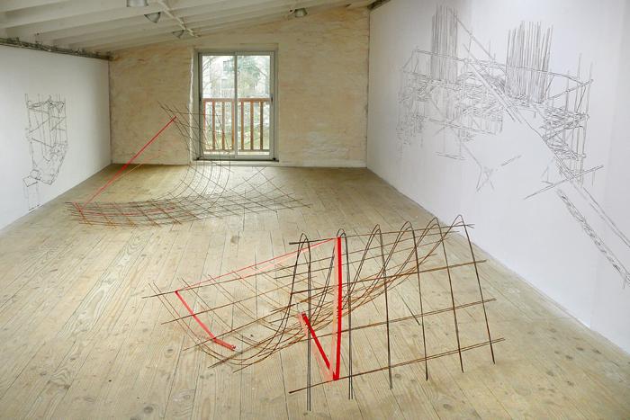 Art contemporain atelier blanc villefranche de rouergue - Sculpture de jardin contemporaine ...